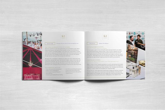 Kim Ruggles Events - Press Brochure - inside 2