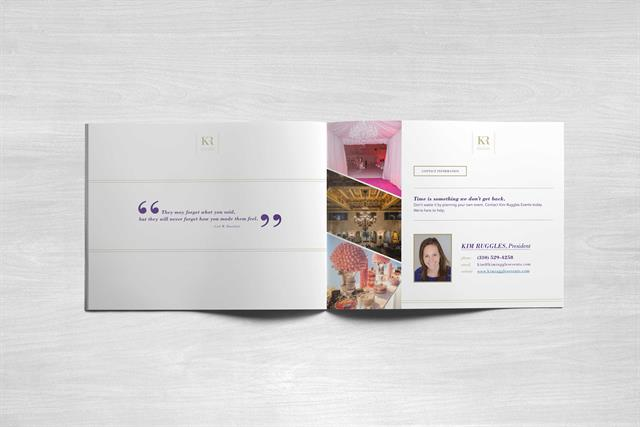 Kim Ruggles Events - Press Brochure - inside 3