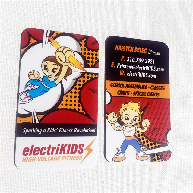 Custom Business Card Design for electriKids