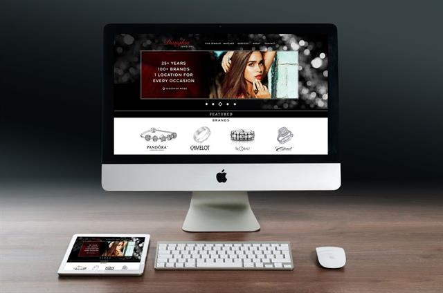 Custom Wordpress, Responsive Design Website for Jewelry Company