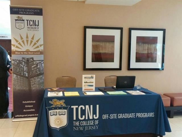Banner & Tablecloth Design for The College of New Jersey