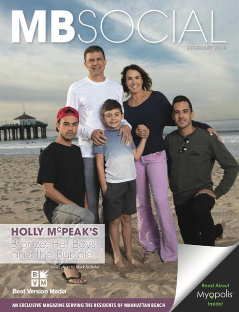 "Inaugural Issue: Olympian Holly McPeak & ""Her Boys"""