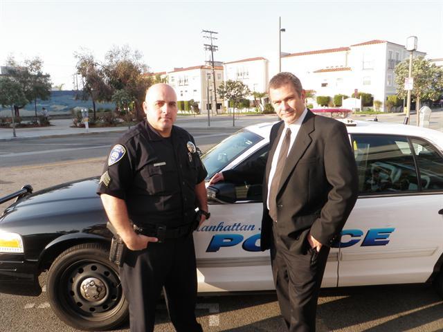 VP Sgt Steve Kitsios and Pres. Det. Mike Rosenberger