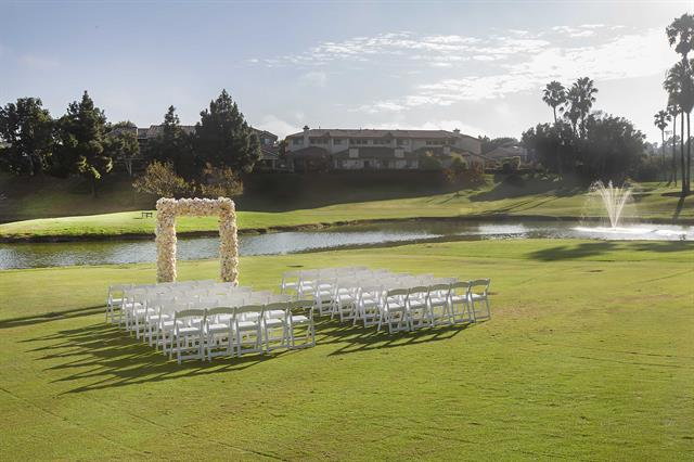 Golf Course wedding 4