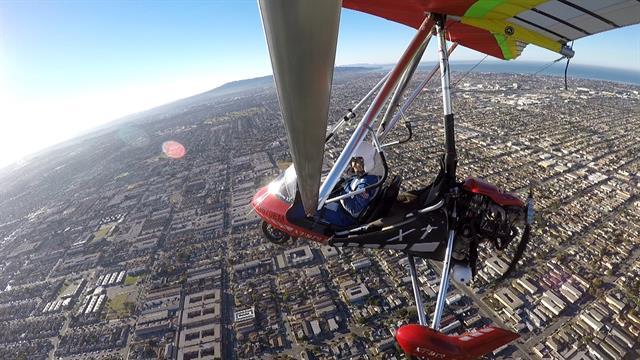Klein as a sport pilot