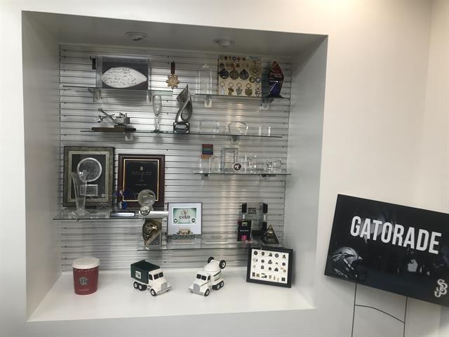 Showroom custom awards
