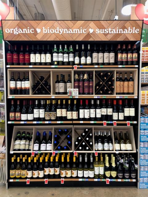 Organic. Biodynamic. Sustainable. WINE. [drops mic]
