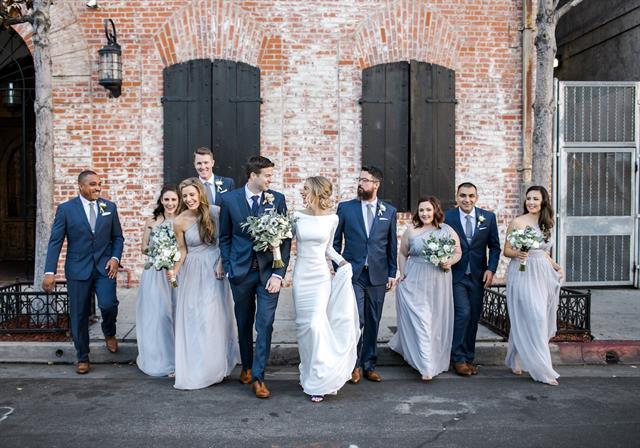 Carondelet House Wedding Party