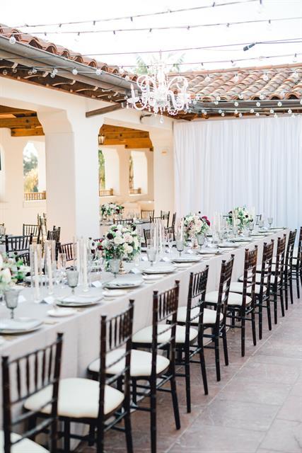 The Ritz-Carlton Bacara, Santa Barbara Wedding Reception