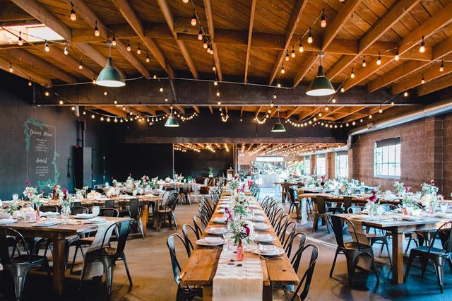 Smoky Hallow Studios Wedding Reception