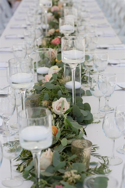 Hermosa Beach Intimate Wedding Reception