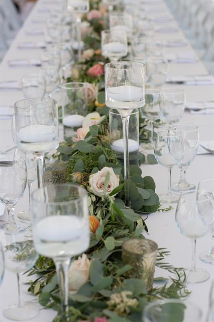 Hermosa Beach Intimate Wedding Reception