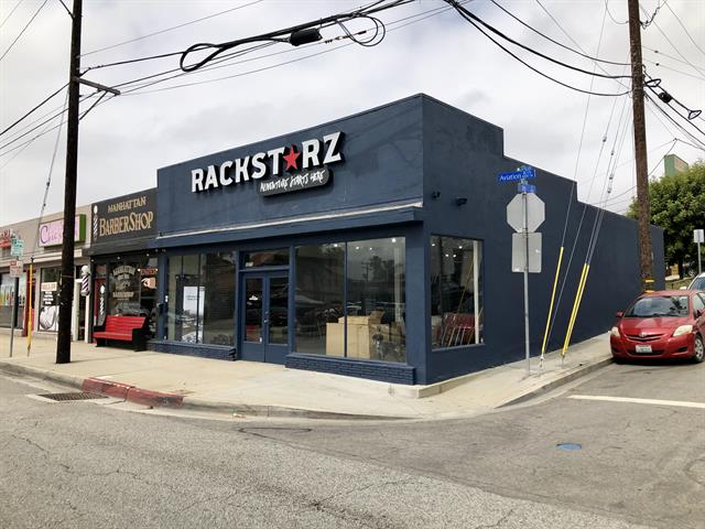 RackStarz Los Angeles Store Front in Manhattan Beach
