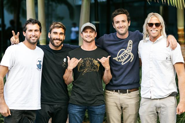 Pro-Surfers joined a panel at the ISTO Symposium November 2019