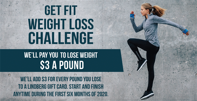 Get Fit Weight Loss Challenge Runs Until June 30th, 2020