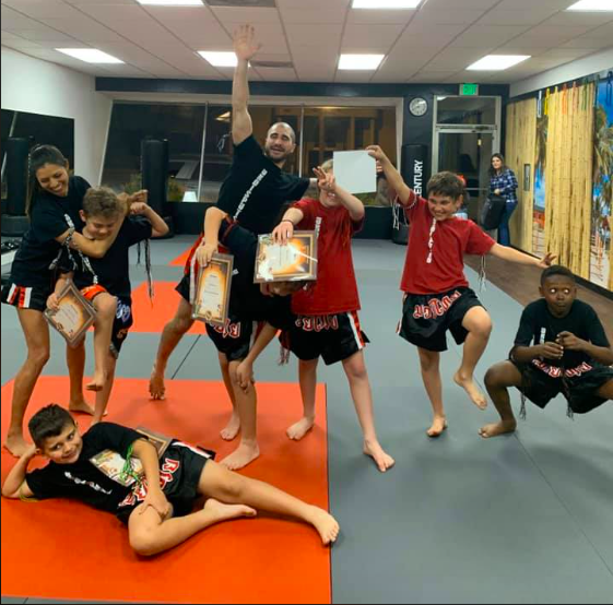 Youth Muay Thai and Coaches (ages 8-14)