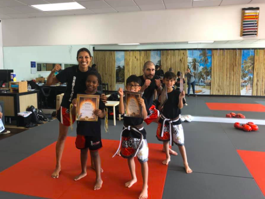 Kids Kickboxing (ages 4-8)