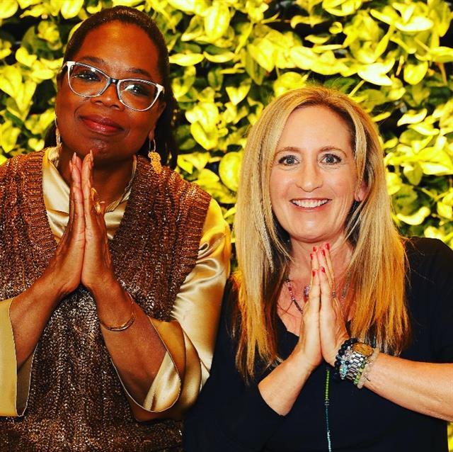 Namaste with Oprah!