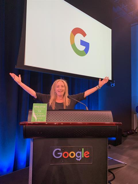 Breathe to Succeed Experiences at Google Offices Pacific Northwest