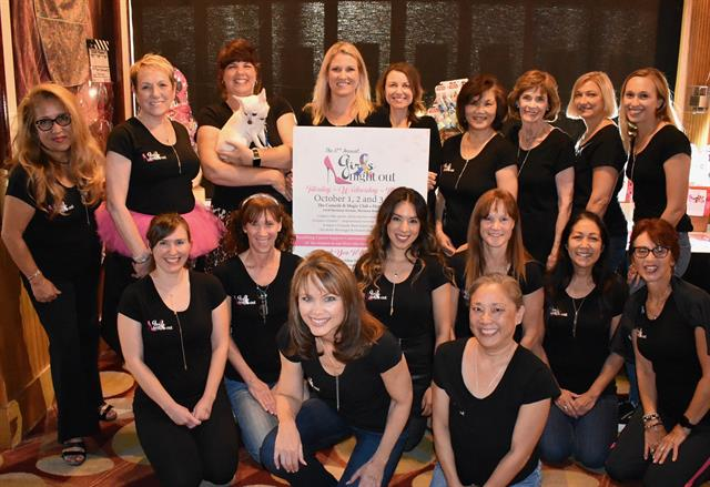 CSCRB's annual Girls Night Out event takes place at the Comedy and Magic Club in Hermosa Beach each October
