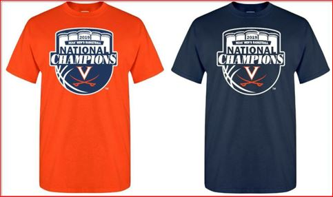 UVA National Championship items available