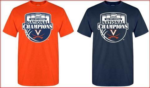 UVA National Championship items available