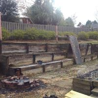 Retaining Wall Removal Before