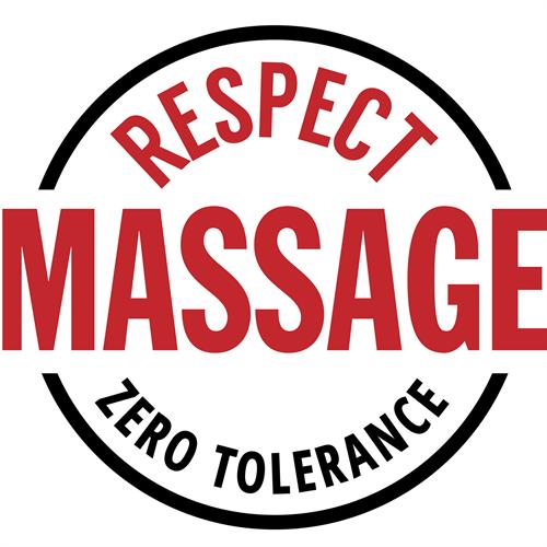 Respect Massage Zero Tolerance for solicitation
