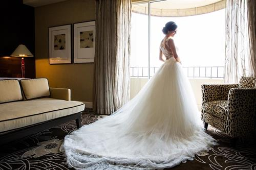 Bridal Suite at Four Seasons Hotel Los Angeles at Beverly Hills