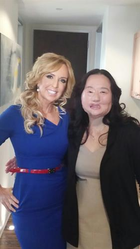 Face Forward Founder/CEO Deborah Alessi and Patient Saundra