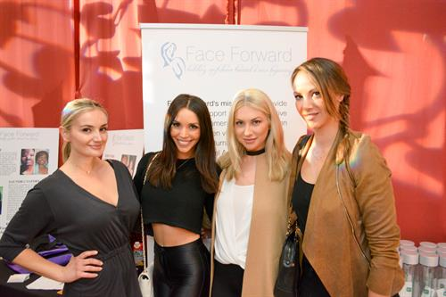 The Ladies of Vanderpump Rules showing their support for Face Forward