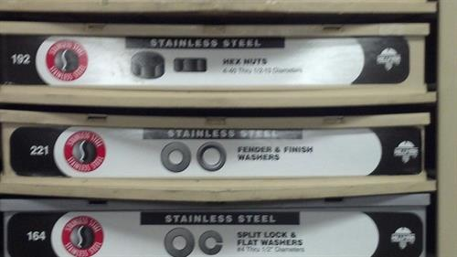 Stainless Steel Washers & Nuts