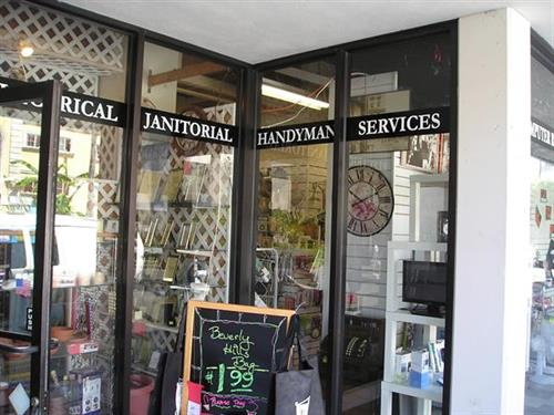 Pioneer Hardware has a handyman service- by appointment
