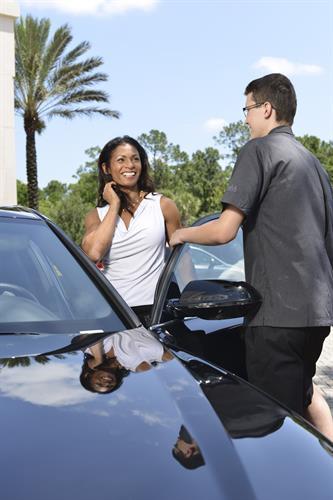 Full service valet and bellstaff operations