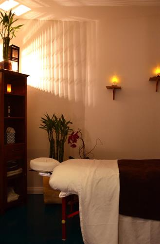 One of our Massage Treatment Rooms