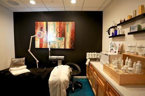 One of our Skin Treatment Rooms
