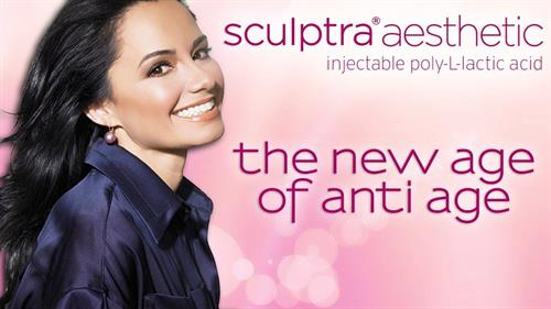 Sculptra Aesthetic jump starts the body's own collagen production.