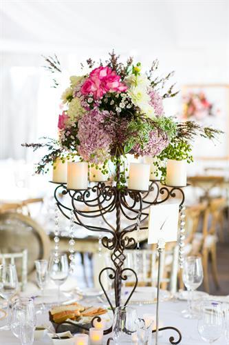 Floras for reception at Ojai Valley Inn