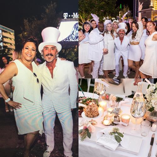 Diner en Blanc 2016 Las Vegas -MGM International