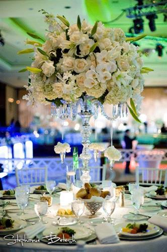Custom Floral arrangements - Wedding Century Haytt