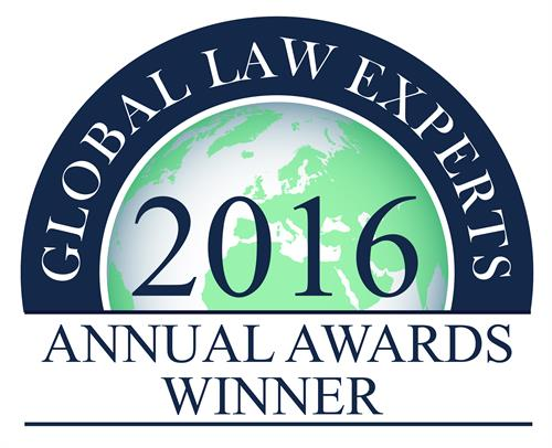 Cohen IP Law Group - Trademark Infringement 2016 Awards