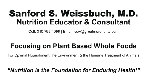 Dr Weissbuch is available for Personal / Private Consultations and Group Lectures