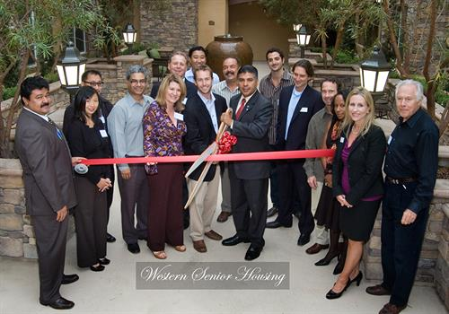 Ribbon Cutting - Western Senior Housing