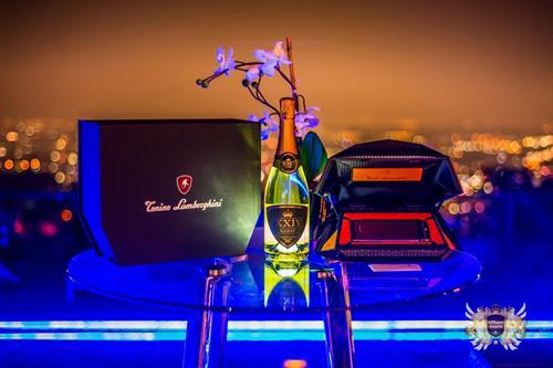 Tonino Lamborghini & XXIV Karat Champagne Branding Campaign