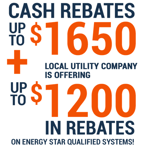 HVAC and Energy Saving Rebates