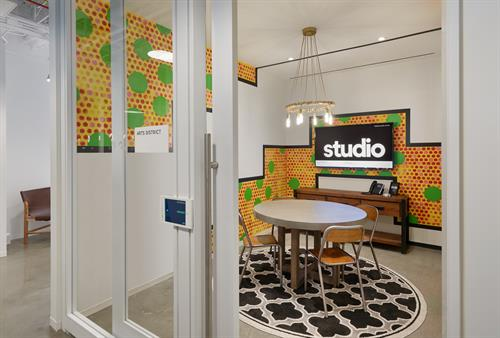 Arts District Themed Conference Room