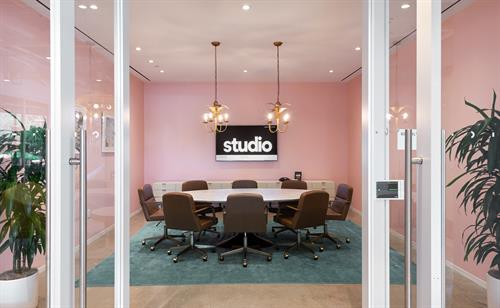 Beverly Hills Themed Conference Room