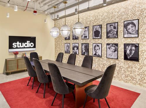 Hollywood Themed Conference Room