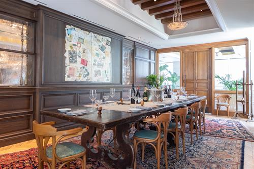 """Lumiere Private Dining """"Writers Den"""""""