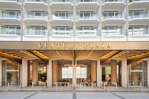 Century Plaza Arrival